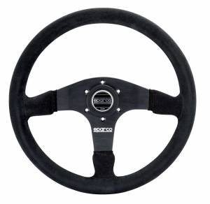 SPARCO #015R375PSN Steering Wheel 375 Black Suede