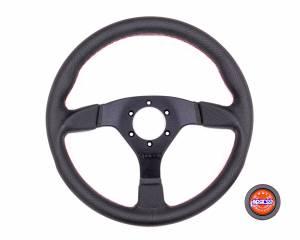 SPARCO #015TSDPLRS Steering Wheel Strada Black / Red