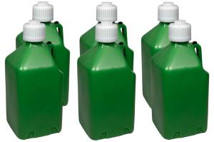 SCRIBNER #2000G-CASE Utility Jug - 5-Gallon Green - Case 6