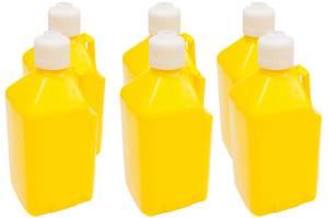 SCRIBNER #2000Y-CASE Utility Jug - 5-Gallon Yellow - Case 6
