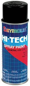 SEYMOUR PAINT #16-133 Hi-Tech Enamels Flat Black Paint