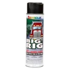 SEYMOUR PAINT #20-1633 Big Rig Flat Black Paint