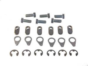 STAGE 8 FASTENERS #8950 Collector Bolt Kit - 6pt 3/8-16 x 1in (6)