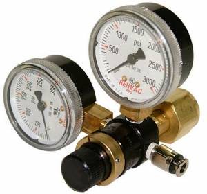 SHIFNOID #PC2008 Regulator - CO2 Dual Gauge