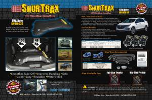 SHURTRAX #101 SUV/Auto Sell Sheet