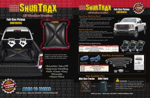 SHURTRAX #103 Full-Size Pick-UP Sell Sheet