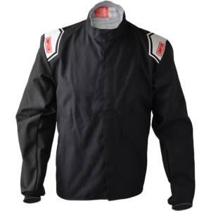 SIMPSON SAFETY #102282 Kart Jacket Medium Black