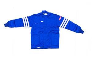 SIMPSON SAFETY #404312 Jacket Dbl  Nomex BL LG Gabardine