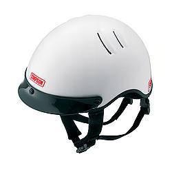 SIMPSON SAFETY #1430041 OTW Shorty Helmet XLarge White