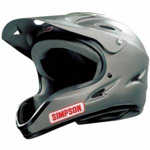 SIMPSON SAFETY #1450038 Pit Warrior OTW Large Flat Black