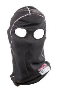 SIMPSON SAFETY #23051K Head Sock Dual Eyeport Black Memory Fit