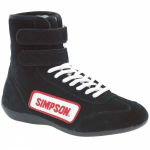 SIMPSON SAFETY #28750BK High Top Shoes 7.5 Black