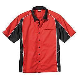 SIMPSON SAFETY #39012MR Talladega Crew Shirt Med Red