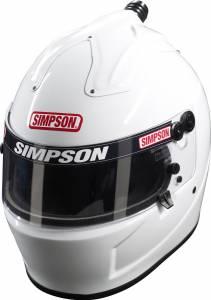 SIMPSON SAFETY #6777581 Helmet Air Inf. Shark 7-5/8 White SA2015