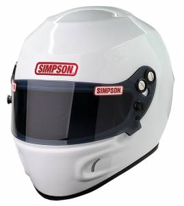SIMPSON SAFETY #6830041 Helmet Devil Ray White X-Large SA2015* Special Deal Call 1-800-603-4359 For Best Price
