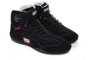 SIMPSON SAFETY #AD100BK Adrenaline Shoe 10 Blk