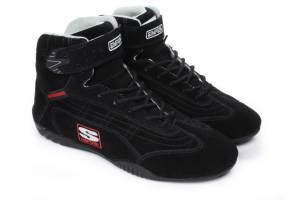 SIMPSON SAFETY #AD400BK Adrenaline Shoe 4 Blk