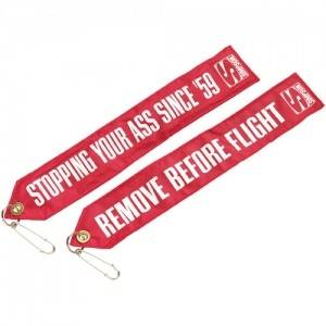 SIMPSON SAFETY #CHUTFLAG Chute Tag Remove Before Flight