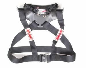 SIMPSON SAFETY #HS.LRG.11.PA.FIA Hybrid Sport Large w/ Sliding Tether PA FIA