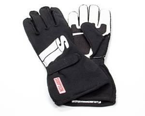 SIMPSON SAFETY #IMYK Impulse Glove XX-Small Black