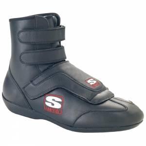 SIMPSON SAFETY #SP100BK Sprint Shoe 10 Black SFI