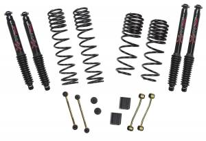 18-   Jeep JL 2-2.5in Suspension Kit Black Max
