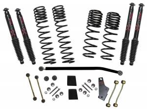 18-   Jeep JL 3.5-4in Suspension Kit Black Max