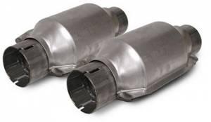 SLP PERFORMANCE #M31040 Catalytic Converters High-Flow (pair)
