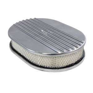 SPECIALTY PRODUCTS COMPANY #6490 Air Cleaner Kit  12in X 2in Oval Half Finned Top