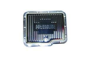 SPECIALTY PRODUCTS COMPANY #7602 GM Powerglide Steel Trans Pan Chrome