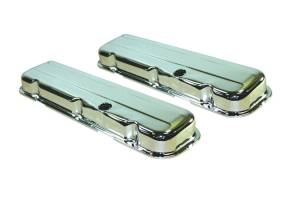 SPECIALTY PRODUCTS COMPANY #8333 65-95 BBC Steel Short V/C Chrome Pair