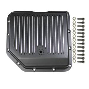 SPECIALTY PRODUCTS COMPANY #8491BK Transmission Pan GM Turbo 350 Finned with Gasket