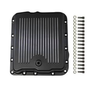 SPECIALTY PRODUCTS COMPANY #8594BK Transmission Pan  GM 700 R4 Finned with Gaske