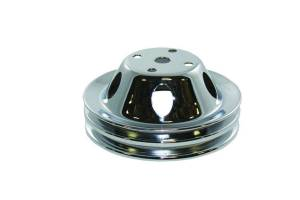 SPECIALTY PRODUCTS COMPANY #8946 SBC LWP 2 Groove Water Pump Pulley Chrome