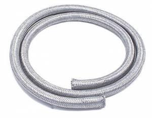 SPECTRE #SPE-29204 Stainless Flex 1/4in Fuel Line