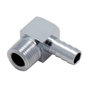 SPECTRE #SPE-5946 90 Deg. Fuel Fitting Chrome