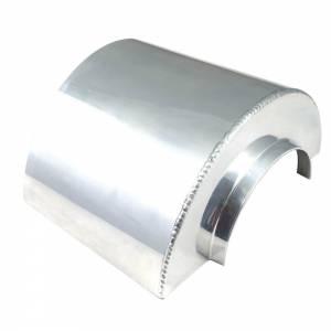 SPECTRE #SPE-8130 Heat Shield Short for 3in Filter Polished Alum