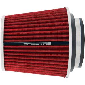 SPECTRE #SPE-8132 4in Inlet Cone Filter Red 6.75in Long