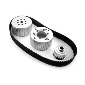 SPEEDMASTER #PCE415.1001 Gilmer Belt Drive Kit SBC w/Short Water Pump