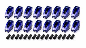 SCORPION PERFORMANCE #1004 SBC Roller Rocker Arms 1.3 Ratio 3/8 Stud