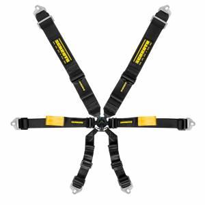 SCHROTH RACING #sr 94510-0 6pt Harness Endruo Black 2in Shoulder & Lap