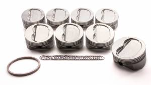 SPORTSMAN RACING PRODUCTS #147550 SBC Dished Piston Set 4.165 Bore -16cc