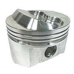 SPORTSMAN RACING PRODUCTS #206041 SBC Domed Piston Set 4.030 Bore +1cc