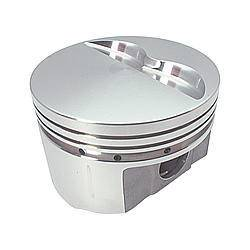SPORTSMAN RACING PRODUCTS #213455 BBM 440 F/T Piston Set 4.350 Bore -6cc