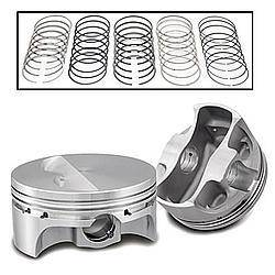 SPORTSMAN RACING PRODUCTS #271064 SBC F/T Pro-Series Piston & Ring Set 4.155