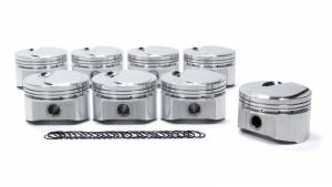 SPORTSMAN RACING PRODUCTS #306724 BBC Domed Piston Set 4.280 Bore +9cc