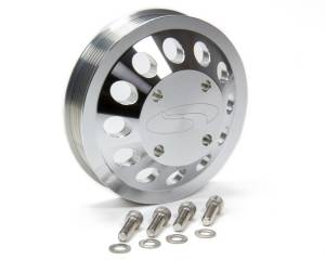 STEEDA AUTOSPORTS #555-3362 Billet Water Pump Pulley 11-12 Mustang GT