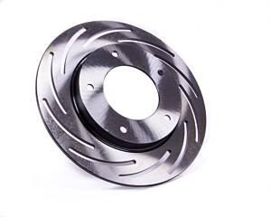 STRANGE #B2783 Brake Rotor LH L/W Slotted 10in Dia