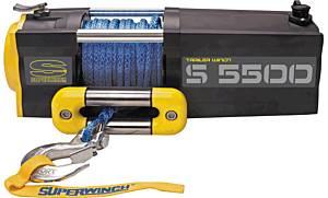SUPERWINCH #1455201 S5500-5500# Winch w/Roller Fairlead