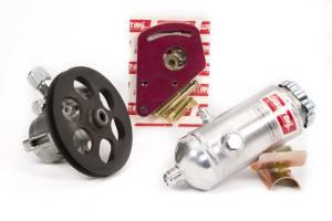 SWEET #305-70349 Power Steering Kit with Steel Pump Block Mnt